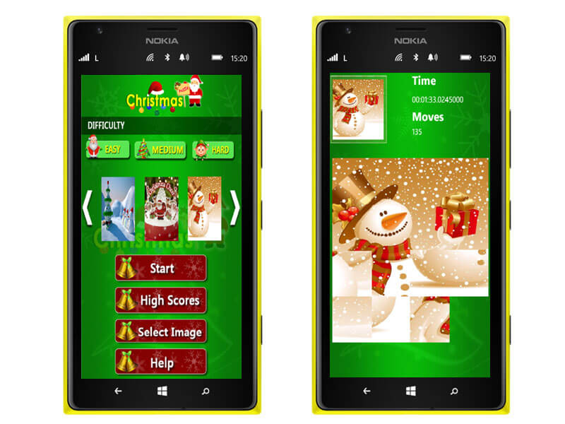 windows_Christmas Puzzle_apps image